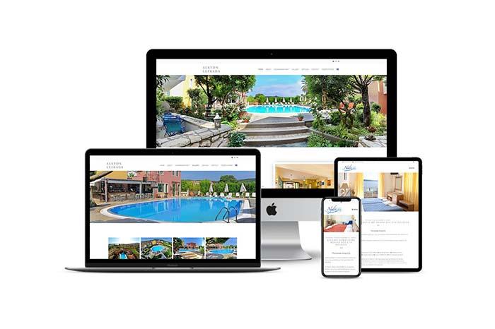 Ξενοδοχεία στη Λευκάδα Create myWeb