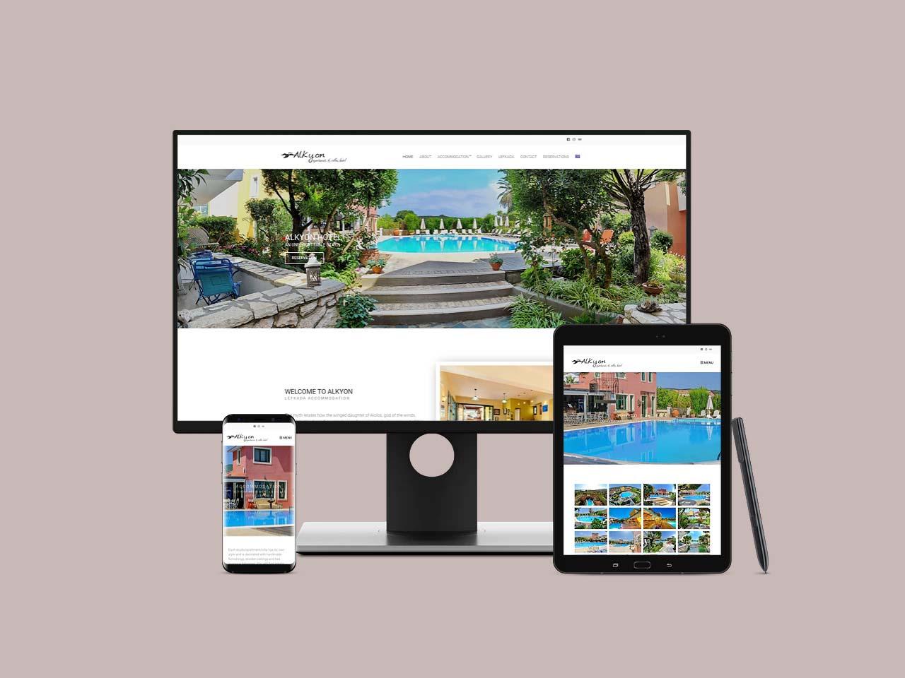 Alkyon Hotel Lefkada Apartments & Villas Accommodation