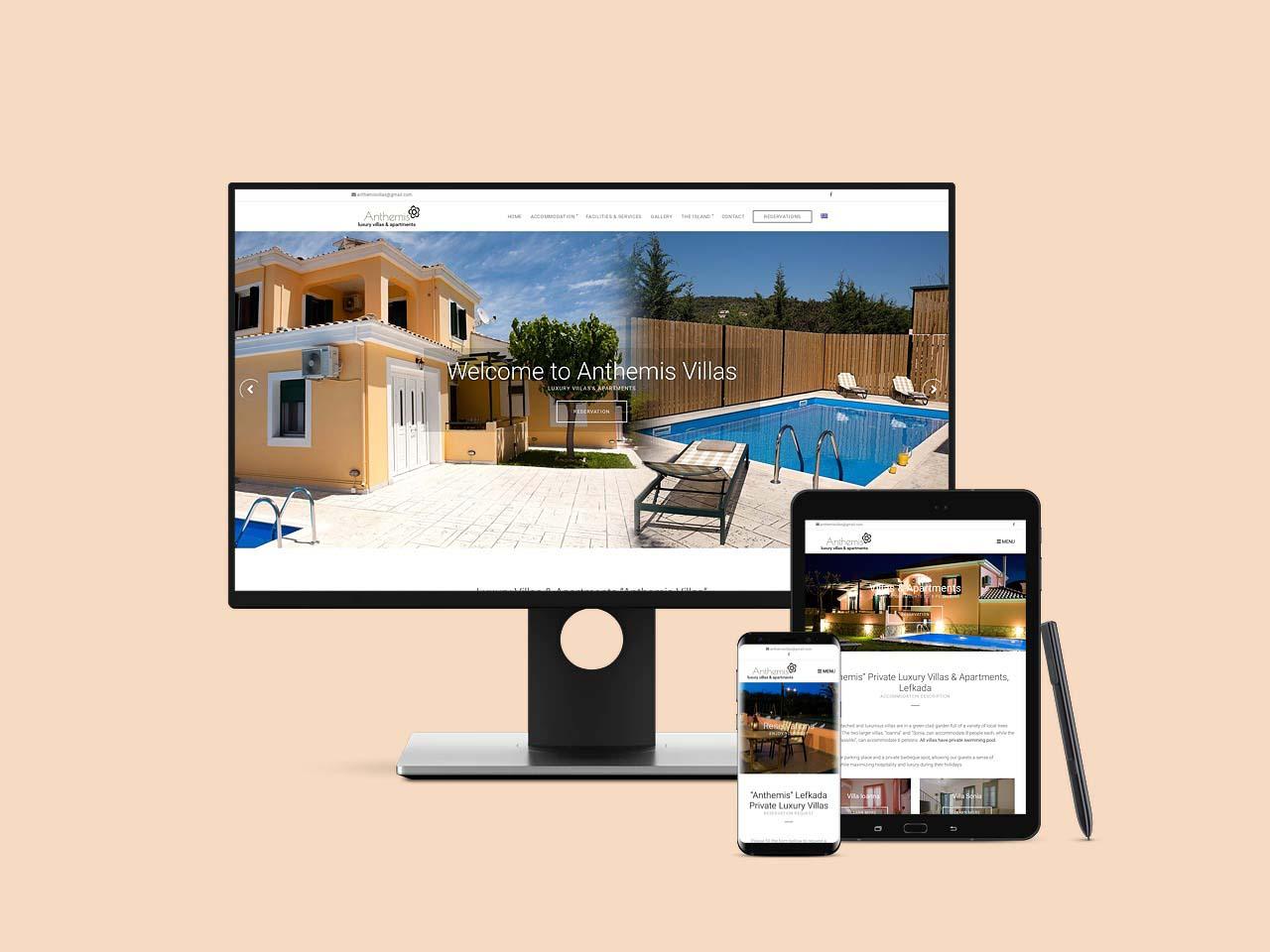 Anthemis Villas Lefkada Studios & Apartments Accommodation