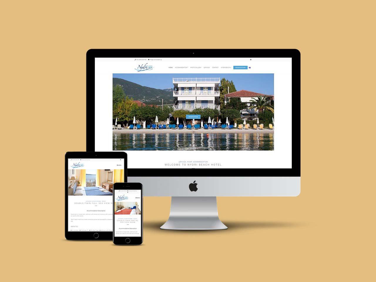 Λευκάδα Ξενοδοχεία Nydri Beach Hotel Lefkada
