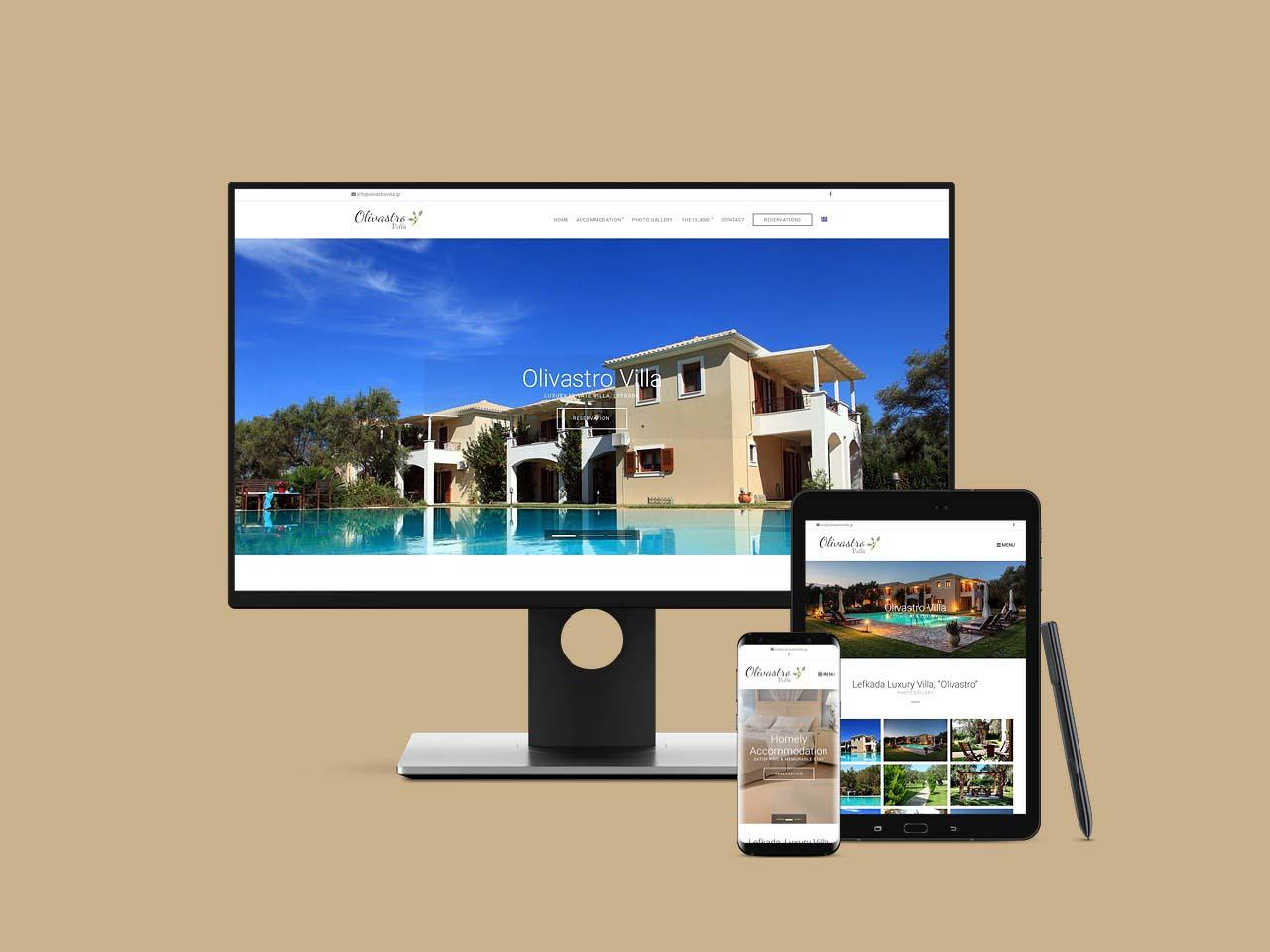 Olivastro Villa Lefkada Luxury Villas