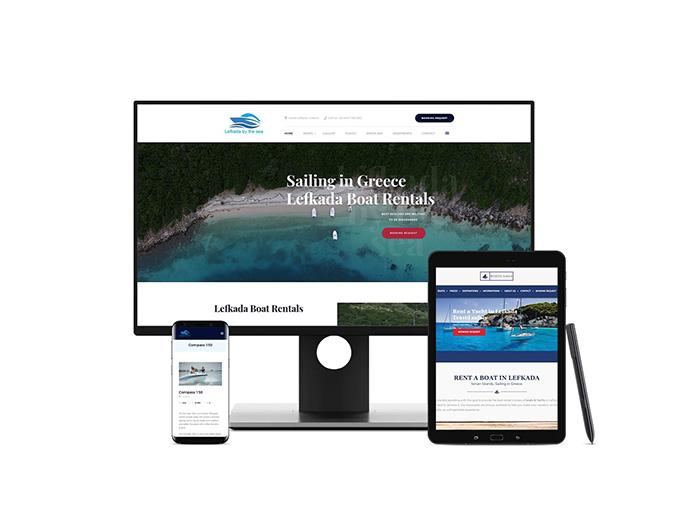 Ενοικίαση Σκαφών στη Λευκάδα Create myWeb