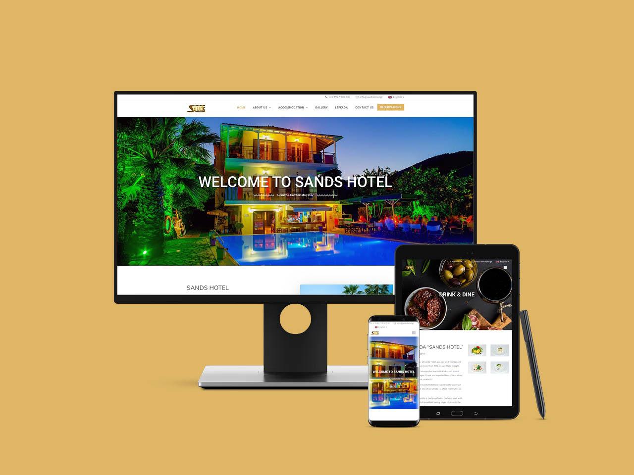 Λευκάδα Νυδρί Ξενοδοχείο Sands Hotel
