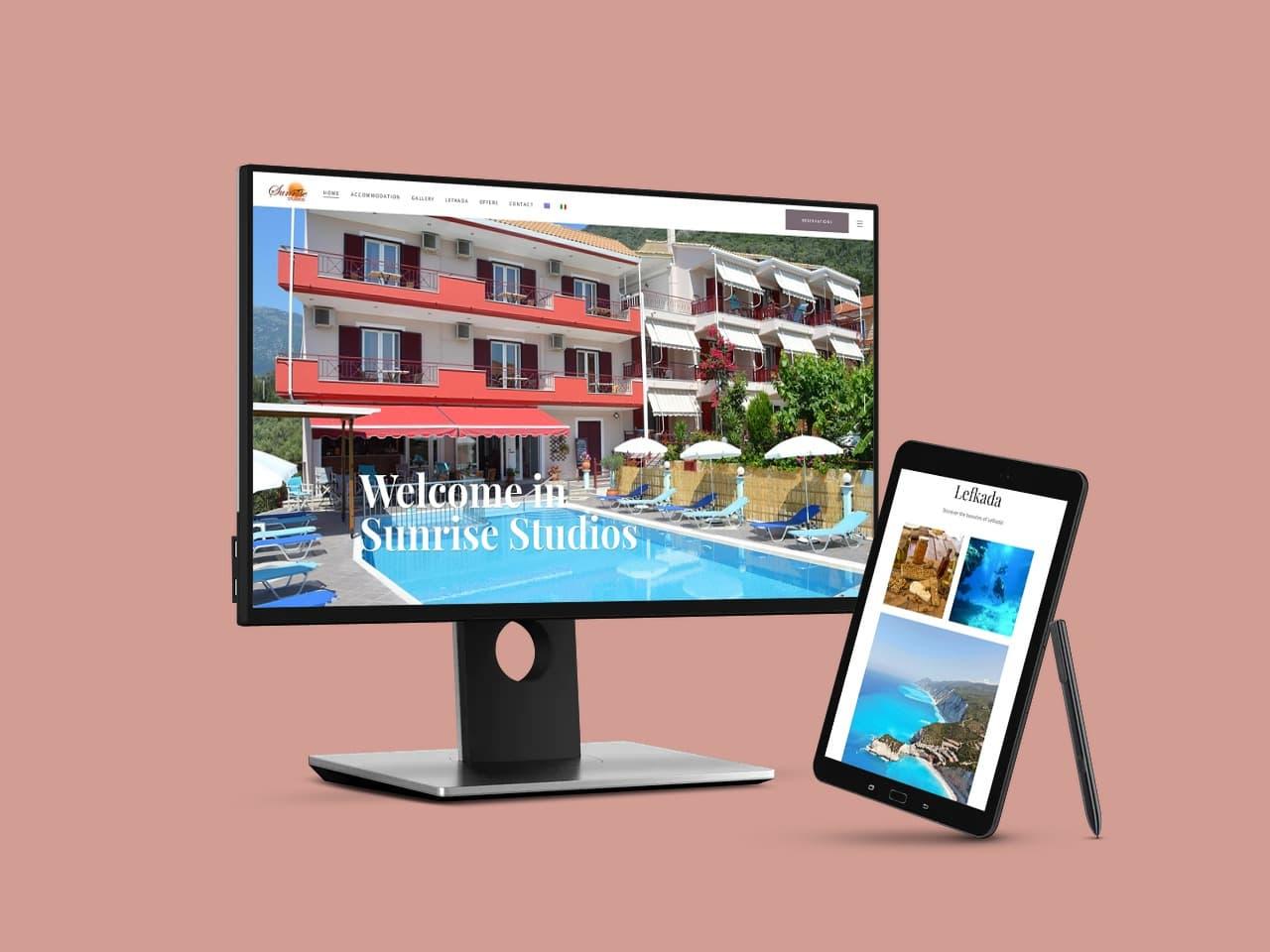 Sunrise Studios Lefkada Luxury Rooms & Apartments Λευκάδα Στούντιο & Διαμερίσματα