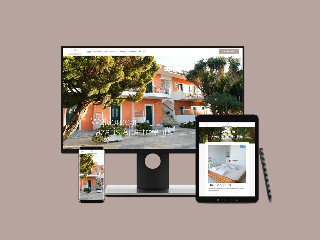 Lazaris Apartments & Studios Lefkada Διαμερίσματα & Στούντιο στη Λευκάδα