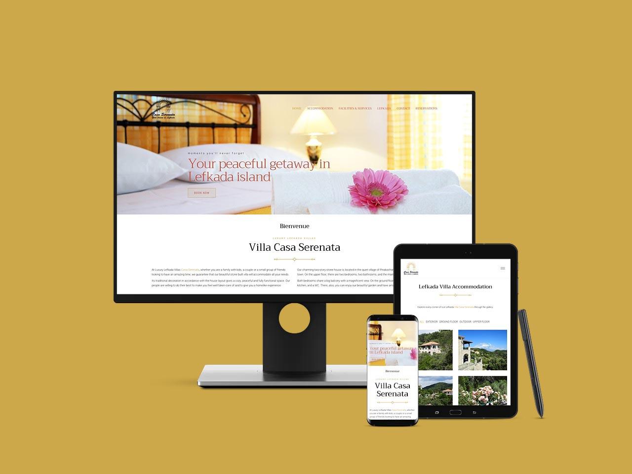 Villa Casa Serenata Lefkada Luxury Villas Λευκάδα Πολυτελή Βίλα με θέα