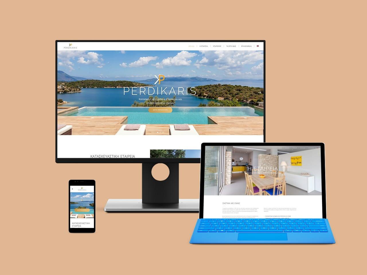 Perdil Lefkada Construction Design Development